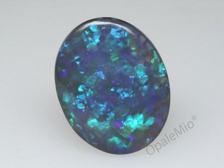 Opale nero australiano