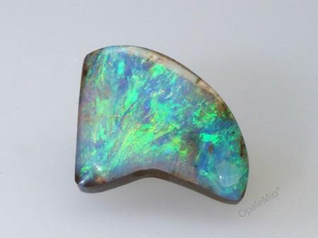 Opale boulder australiano