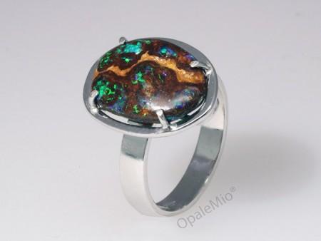 Anello opale Matrix