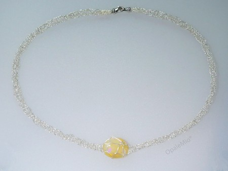 Matrix opal Necklace