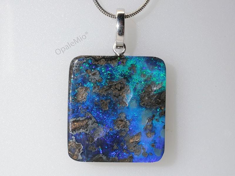 Pendente opale boulder