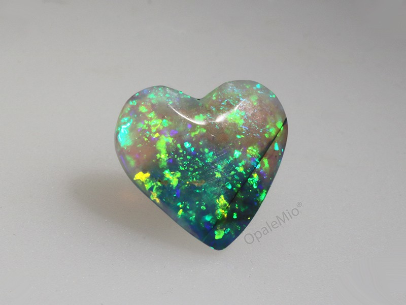 Crystal black opal