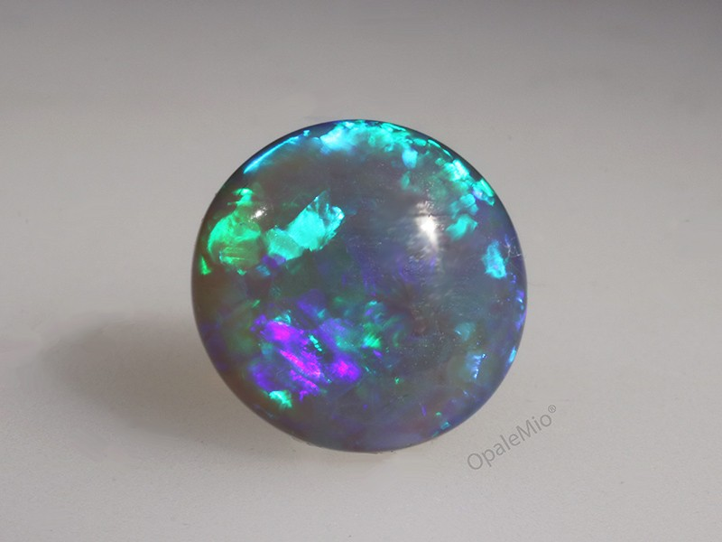 Semiblack opal