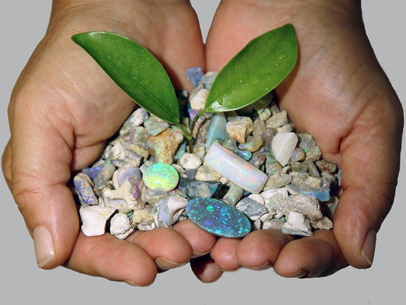 Ethical opals